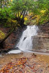 Buttermilk Falls Cascade