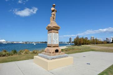 ANZAC Square Gold Coast Queensland Australia