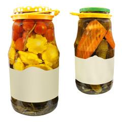 vegetable jar