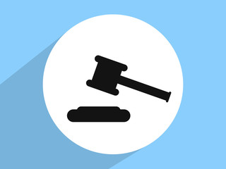 Hammer judge a triangle pattern