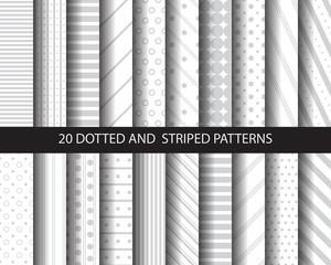 20 geometric patterns