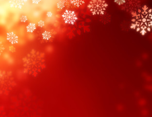 shiny red christmas