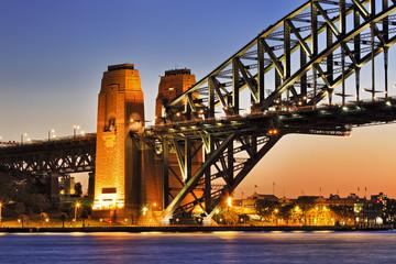 Sy Bridge Part Arch sunset