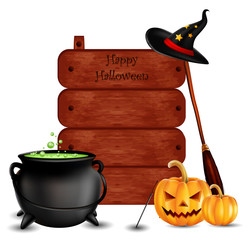 happy halloween background for you design