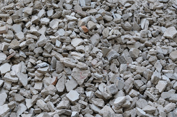 scrap cement old