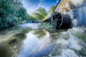 linney's mill on a sunny day