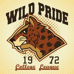Wild pride sports mascot