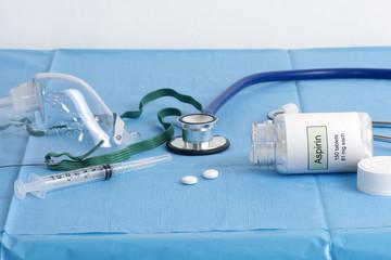 Two Aspirin After Heart Attack