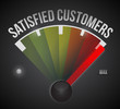 satisfied customer illustration design