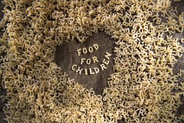 Pasta for children
