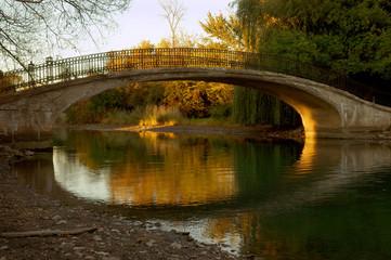 Michigan Park Walk Bridge