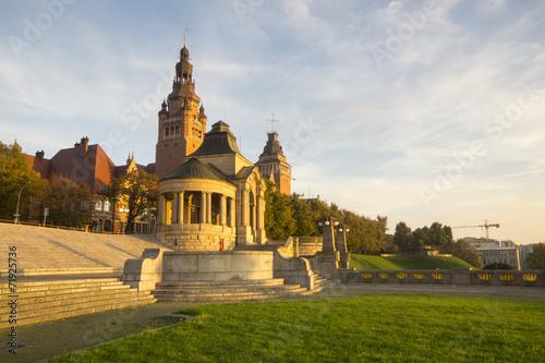 panorama Tarasów Hakena(Wały Chrobrego),Szczecin