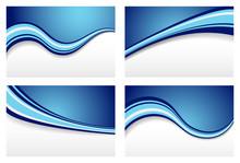 Blue Wave Tła