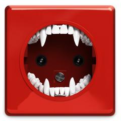 Vampir-Steckdose