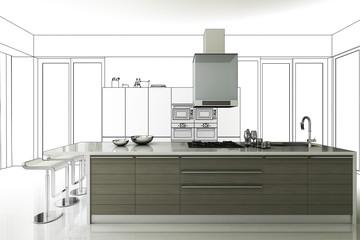 Küchen-Projekt (Entwurf)