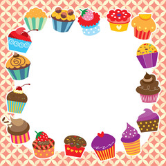 cupcakes layout design
