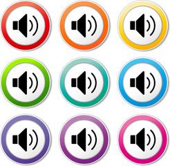 speaker icons