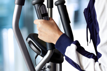 Fitness with a  Exercise Machine