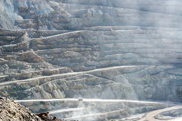 View of Chuquicamata Copper Mine