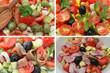 Salade de Crudités  Anchois ou Jambon