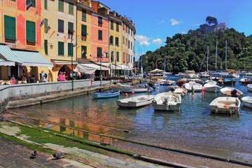 Hafen in Portofino