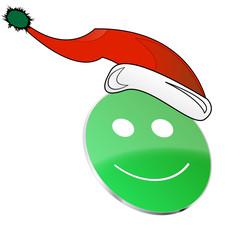 Weihnachten - Smiley