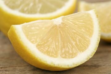 Geschnittene Zitrone Früchte