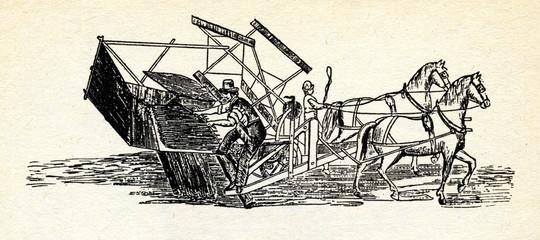 McCormick's reaper 1847