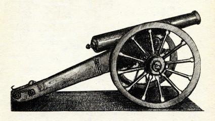 Steel cannon (Obukhov, Pavel Matveevich, 1860)