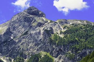 Bergmassiv Alpen in Österreich