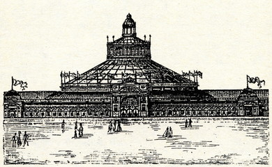 Rotunde, centre of EXPO Vienna 1873