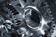 engineering and large cogwheels machinery, powered by chain
