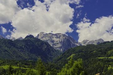 Alpenaussicht in Österreich