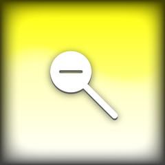 bouton web loupe -