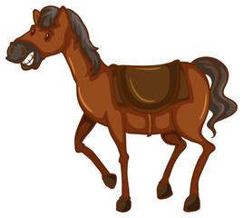 A sketch of a horse
