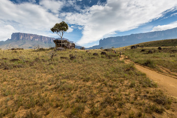 Track to Mount Roraima - Venezuela, South America