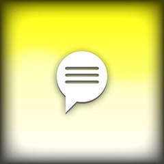 bouton web messagerie