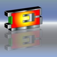 Logo Energiespeicher heiss