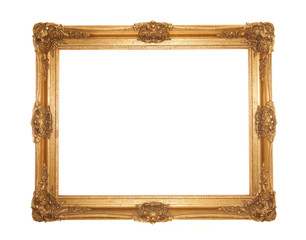 grand gold gilt ornate rococo frame