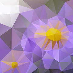 Modern Design. Flower.
