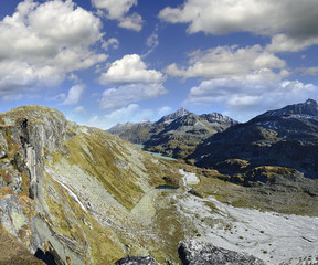 Tauernmos lake (Tauernmossee) National park Hohe Tauern, Austria