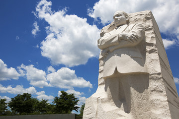 Martin Luther King memorial in Washington.