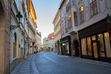 street in old town, Prague