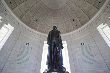 Thomas Jefferson memorial in Washington