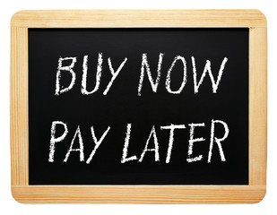 Buy now and pay later