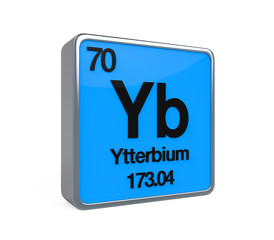 Ytterbium Element Periodic Table