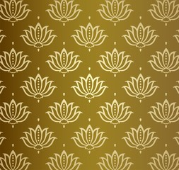 water lily , wedding card design, royal India