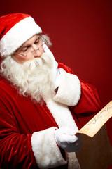 Pensive Santa