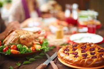 Cowberry pie