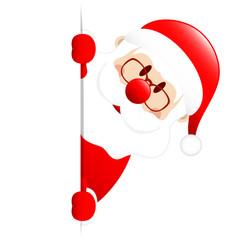 Santa Banner Diagonal